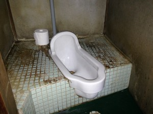 借家のトイレ掃除後