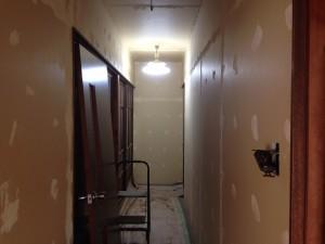 室内(廊下)のリフォーム前