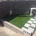 庭のリニューアル後