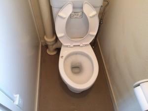 トイレの掃除後