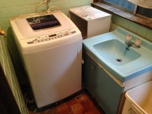 洗濯機、水まわりの不用品