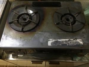 キッチン(ガスコンロ)の掃除後