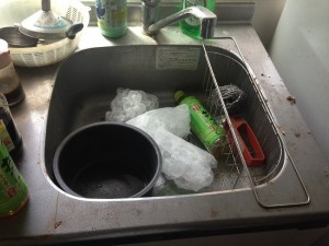 キッチンの掃除前3