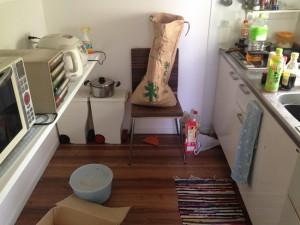 キッチンの掃除前1