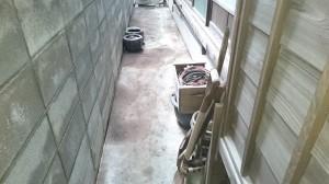 家の周りの大掃除後2
